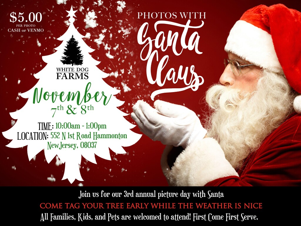 Pictures With Santa - November 7th and 8th, 2020